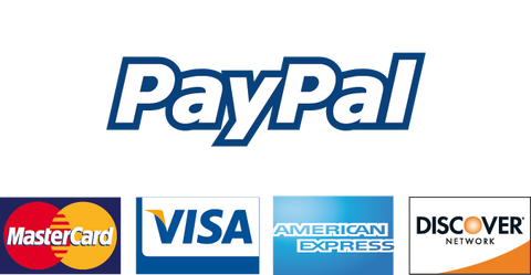 Paypal is our Preferred method of payment