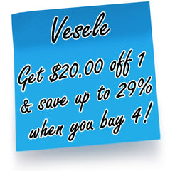 Vesele Get $20 Off 1 Bottle and Save up to 29% when you buy 4 - Increase Blood Flow, Increase Sexual Energy