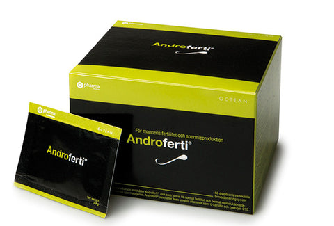 Androferti 60 Sachet Box - Support for Male Reproductive Health and Sperm Quality - Ooyess