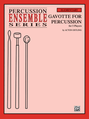 Acton Ostling - Gavotte for Percussion
