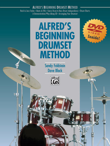 Dave Black & Sandy Feldstein - Alfred's Beginning Drumset Method