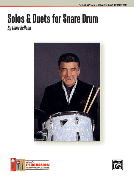 Louis Bellson - Solos & Duets for Snare Drum