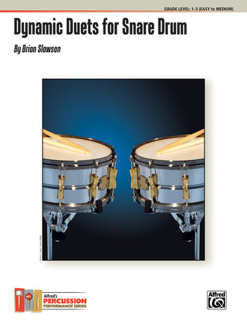 Brian Slawson - Dynamic Duets for Snare Drum