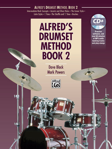 Dave Black & Mark Powers - Alfred's Drumset Method, Book 2