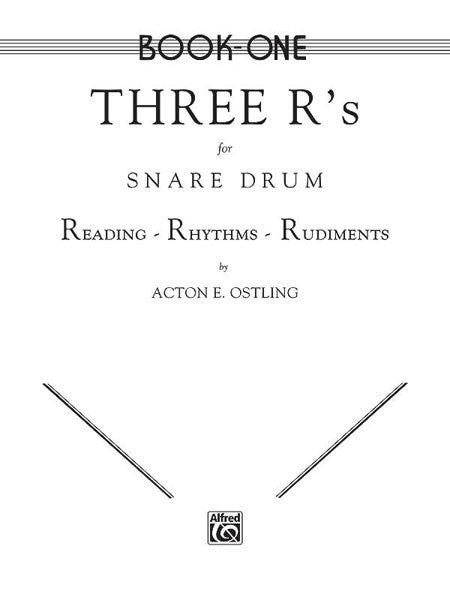 Acton Ostling - Three R's for Snare Drum