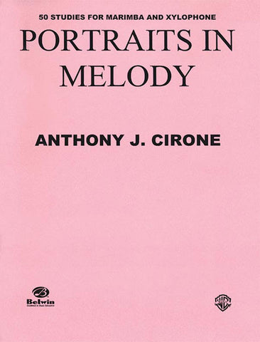 Anthony J. Cirone - Portraits in Melody