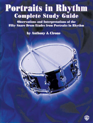 Anthony J. Cirone - Portraits in Rhythm: Complete Study Guide