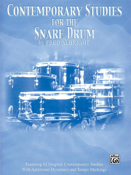 Fred Albright - Contemporary Studies for the Snare Drum