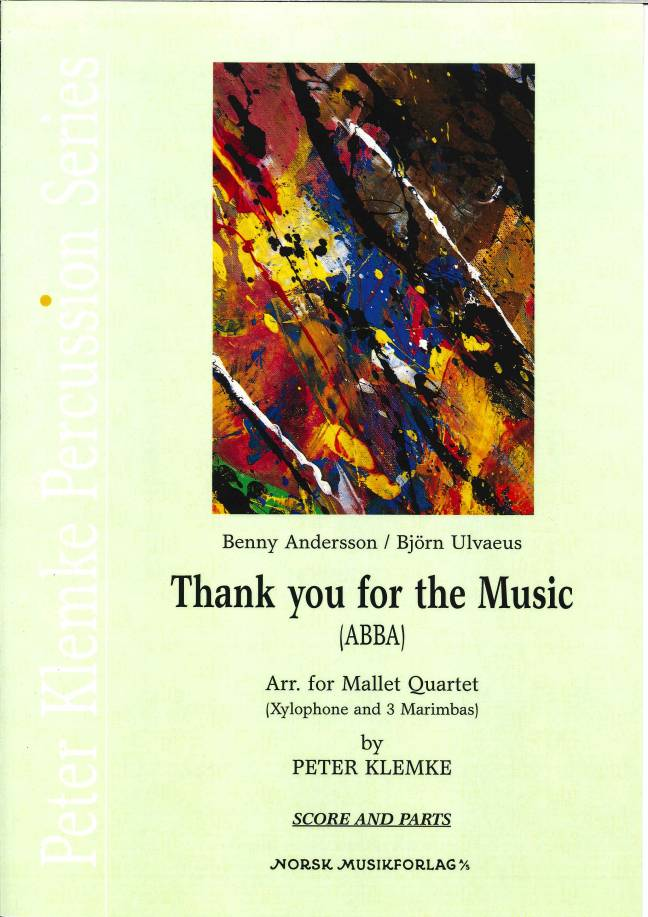Abba (arr. Peter Klemke) - Thank You for the Music