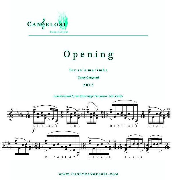 Casey Cangelosi - Opening