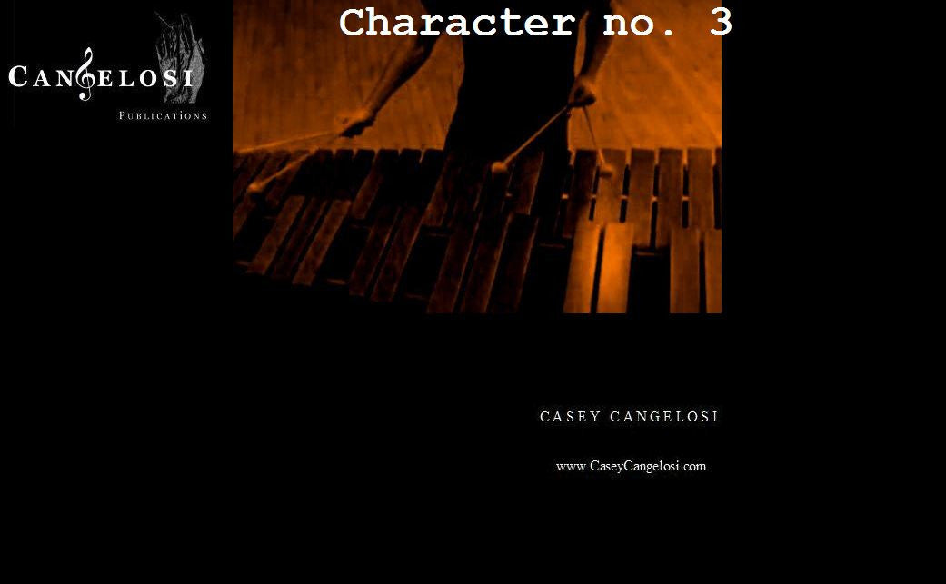 Casey Cangelosi - Character No. 3