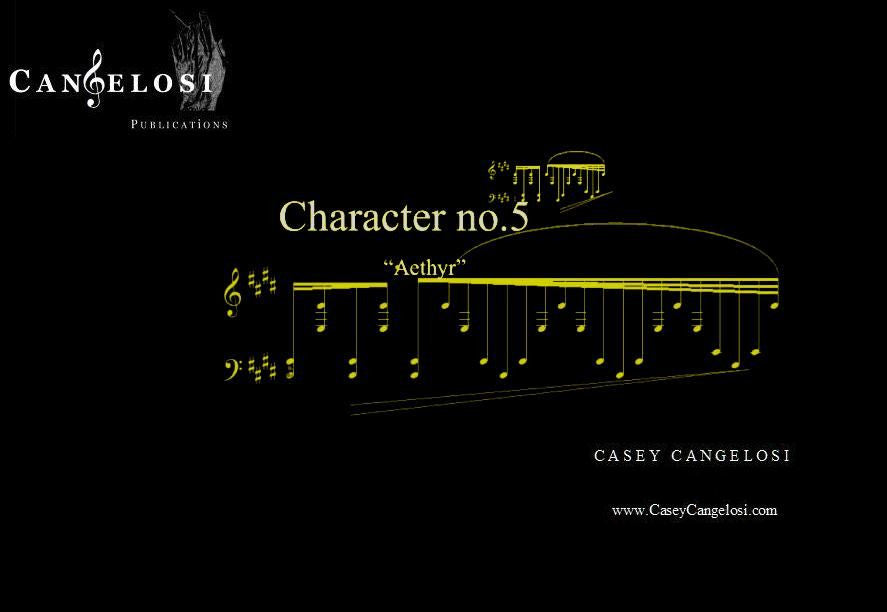 "Casey Cangelosi - Character No. 5 ""Aethyr"""