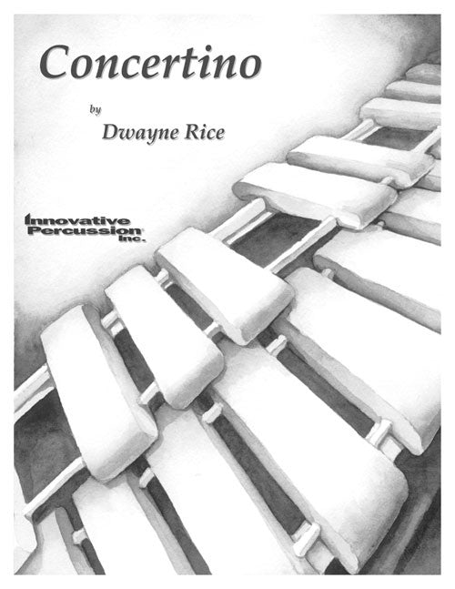 Dwayne Rice - Concertino (Mar. c/ensamble)