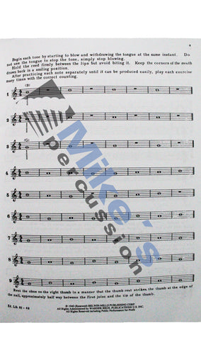 Gekeler - Method for Oboe Book One