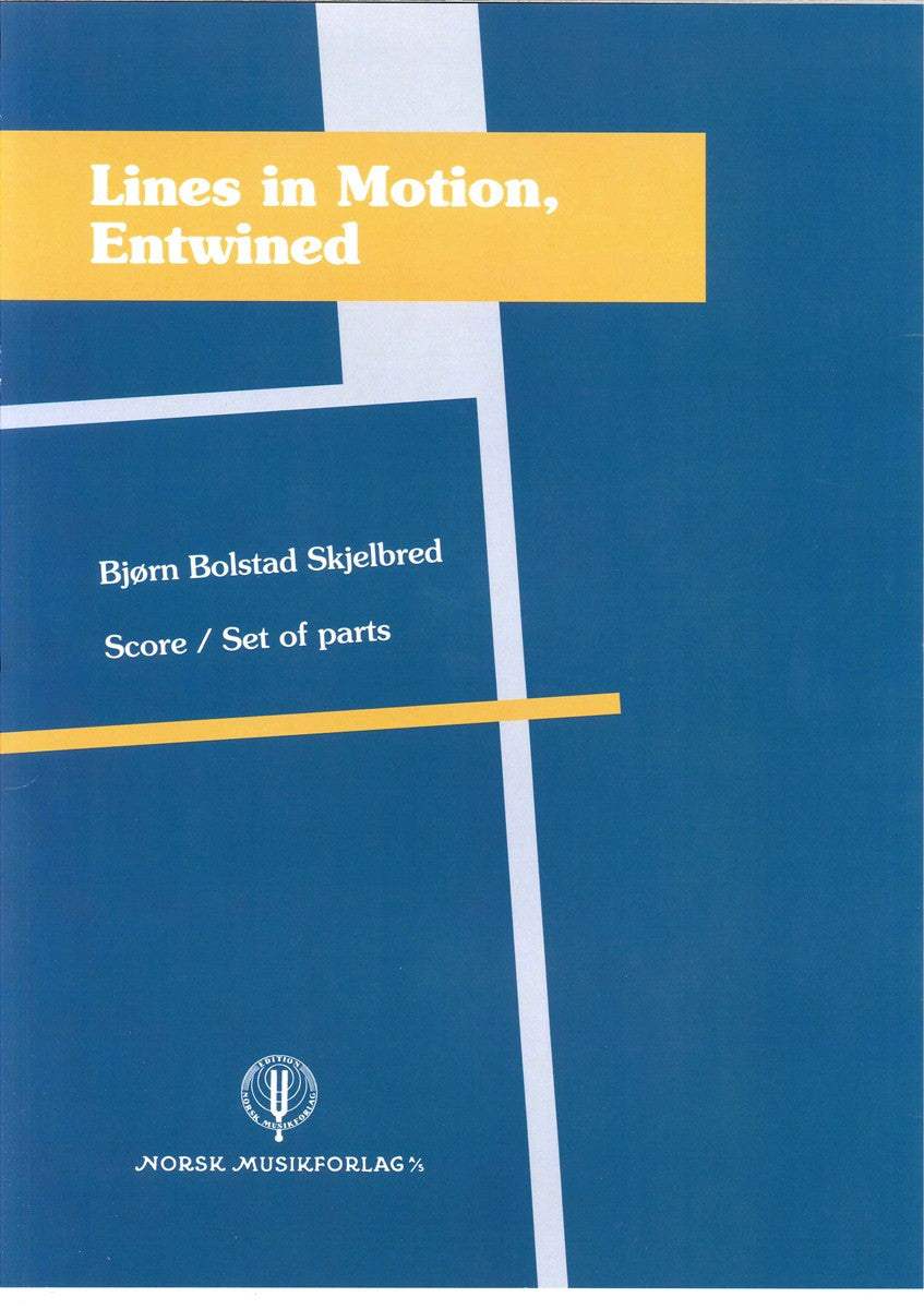 Bjørn B. Skjelbred - Lines in Motion, Entwined