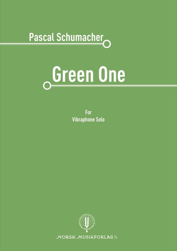 Pascal Schumacher - Green One