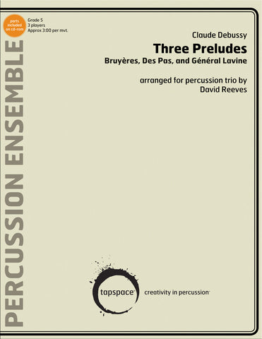 Claude Debussy - Three Preludes