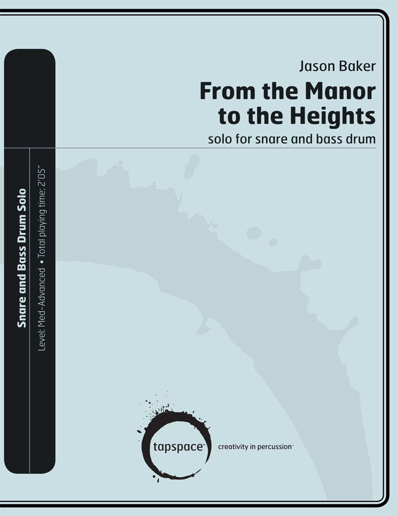 Jason Baker - From the Manor to the Heights
