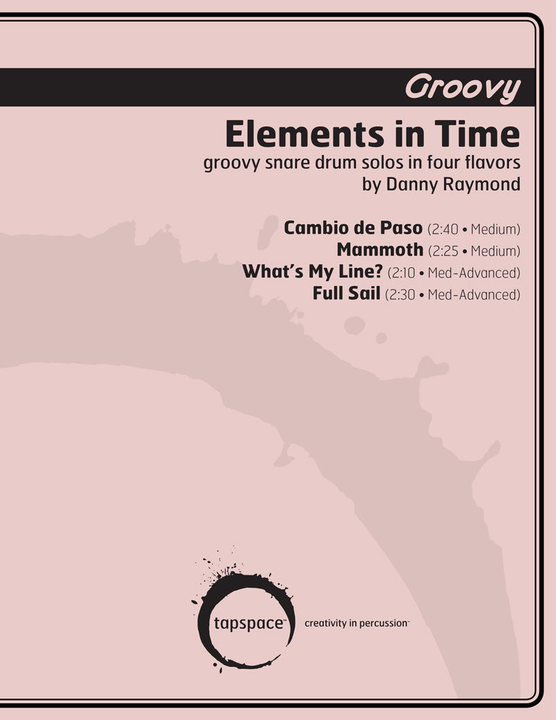 Danny Raymond - Elements in Time (GROOVY)