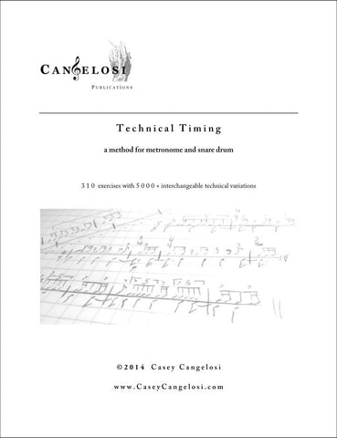 Casey Cangelosi - Technical Timing