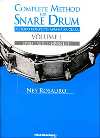 Complete Method for Snare Drum - Ney Rosauro