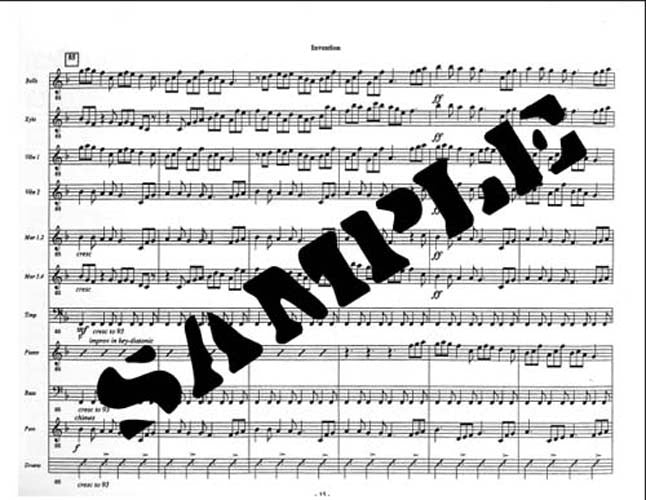Billy Barber (arr. M. Ford) - Invention