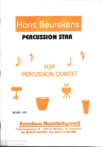 Hans Beurskens - Percussion Star