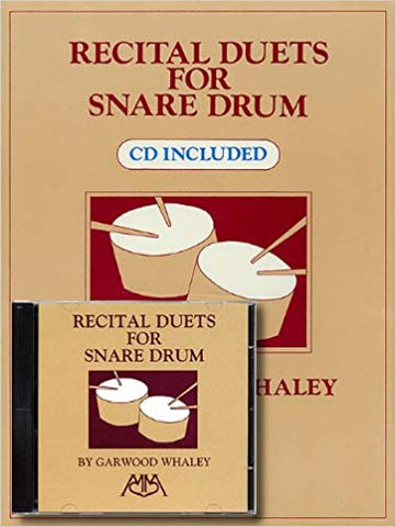 Garwood Whaley - Recital Duets for Snare Drum
