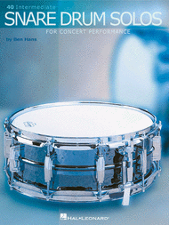 Ben Hans - Snare Drum Solos for concert performance