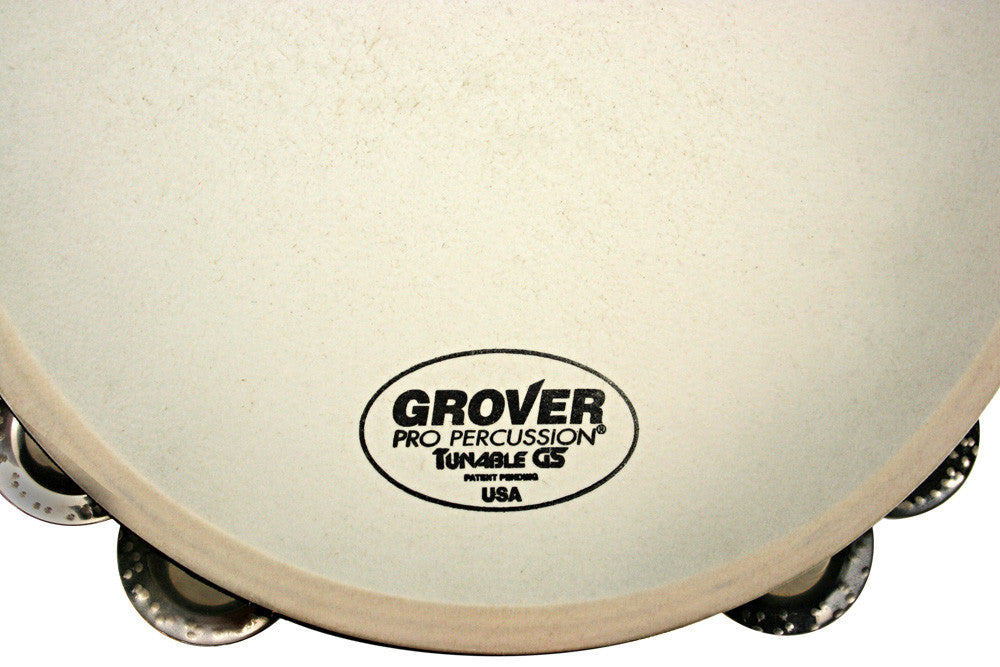 "Grover Pandero Orquestal Afinable de 10"" - T2/GS-T"