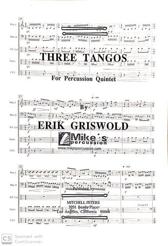 Erik Griswold - Three Tangos