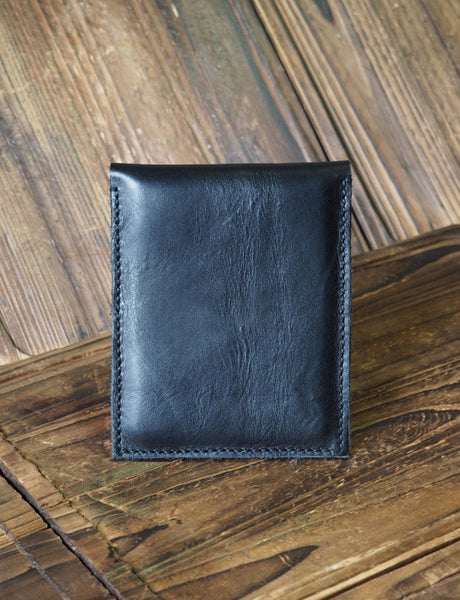 Black | ES Corner Leather Pouch