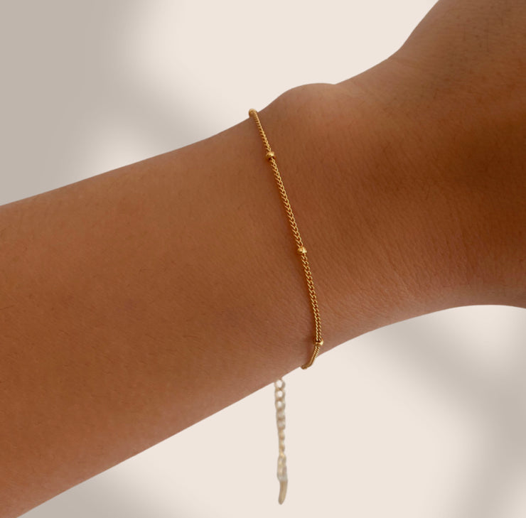 Solaris Satellite Chain Bracelet