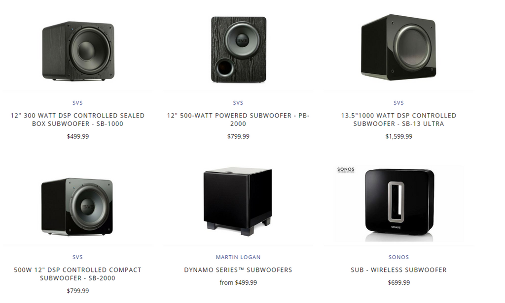 How to Choose the Right Subwoofer