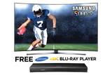 Receive a FREE 4K Blu-ray Player when Your Purchase a Samsung!