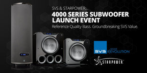 Be Part of Audio History with SVS and Starpower!
