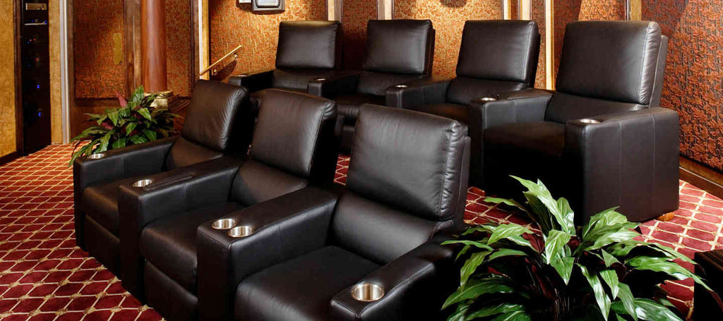 home theater seating - Home Theater Design Dallas