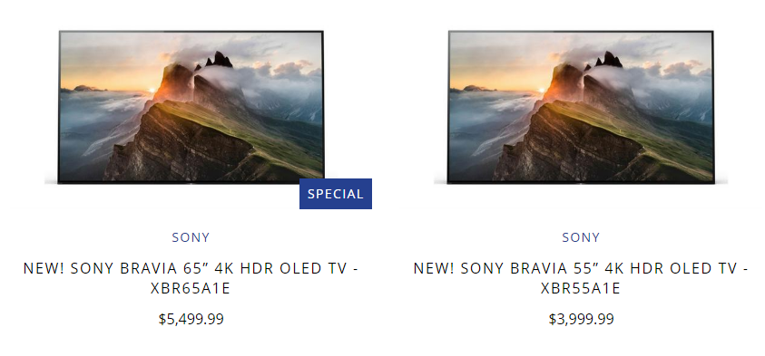 shop-sony-oled-a1e-series-dallas-fort-worth-phoenix-starpower