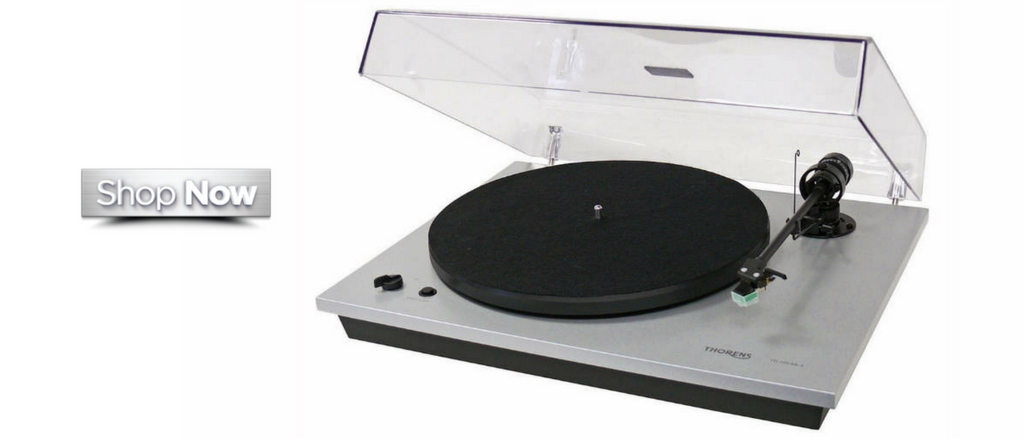 Thorens-MKIV-Turntable-TD295-Black-Angle - Starpower Home Theater