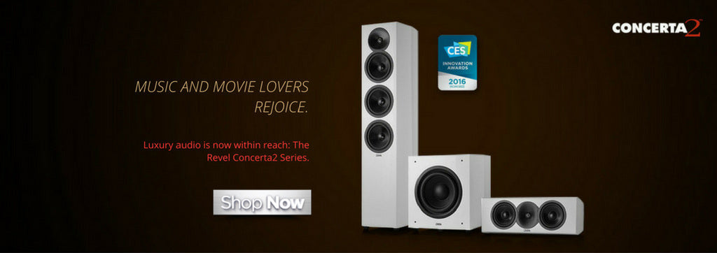 Revel Concerta 2 Series Speakers - Starpower Home Theater - Music and Movie Lovers Rejoice. Luxury audio is now within reach