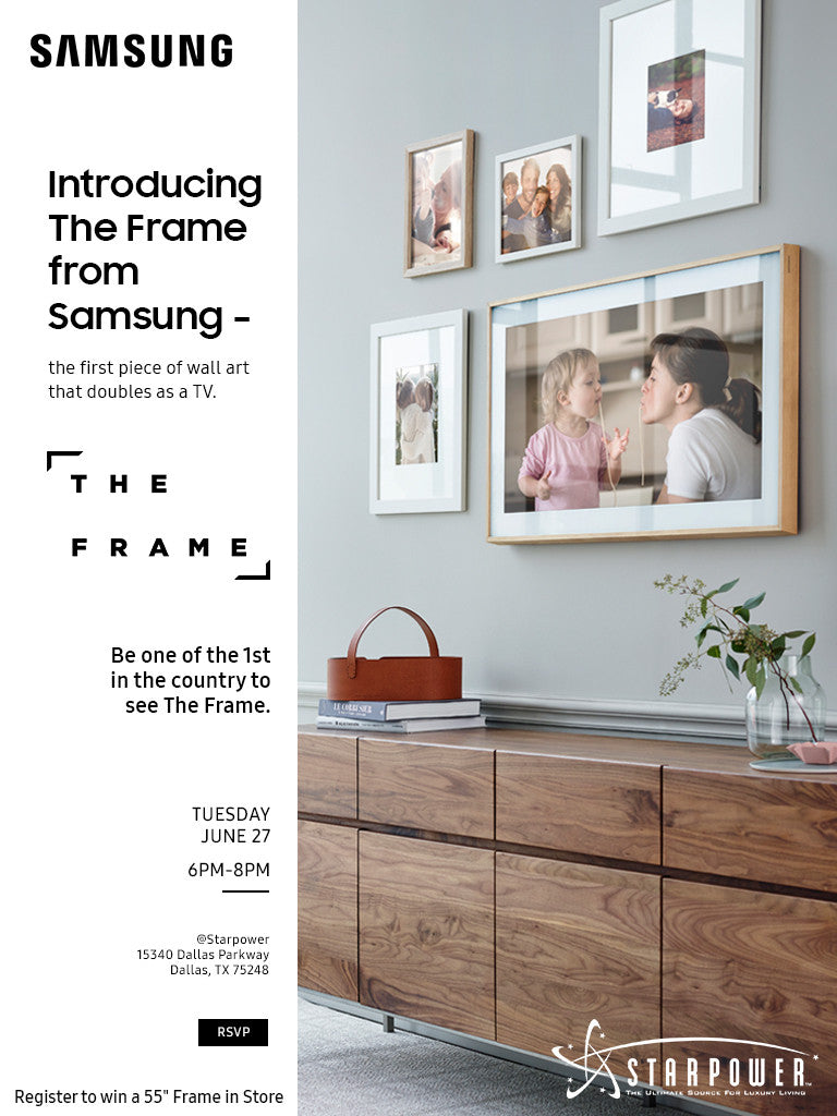 Samsung Frame Launch Event