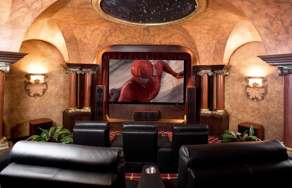 Home Theater Design Dallas Gorgeous Home Theater  Design And Installation  Dallasfort Worth Tx . Decorating Inspiration