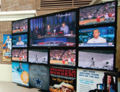Video Walls - Commercial A/V - Dallas- Phoenix- Fort Worth - Southlake