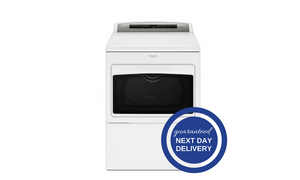 Whirlpool 7.4 Cu. Ft. White Electric Dryer - WED7500G-Appliances-Whirlpool-Starpower Home Theater