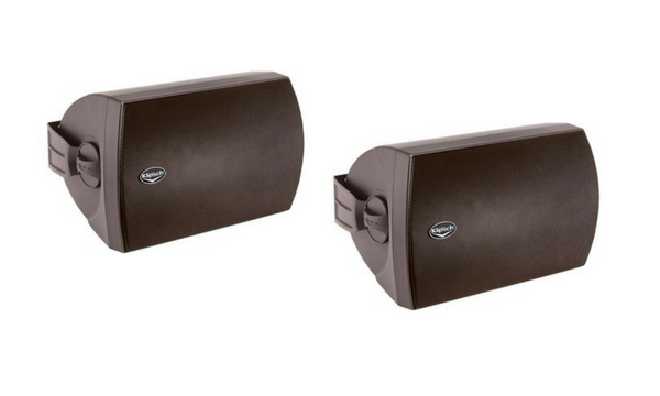 "Klipsch 6-1/2"" 2-Way Outdoor Loudspeaker (Pair) - AW-650-Black-Outdoor Speakers-Klipsch-Starpower Home Theater"