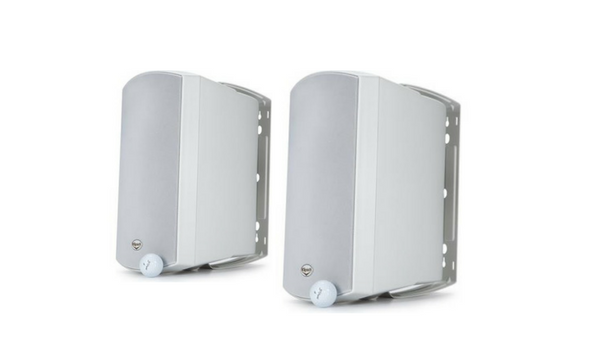 "Klipsch 6-1/2"" 2-Way Outdoor Loudspeaker (Pair) - AW-650-White-Outdoor Speakers-Klipsch-Starpower Home Theater"
