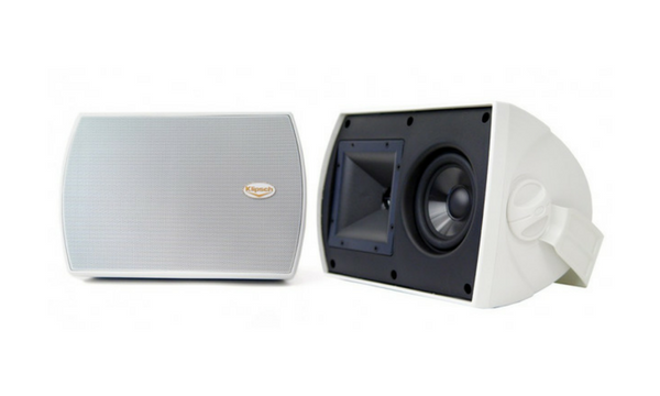 Klipsch All-Weather Outdoor Loudspeaker Pair - AW-525 (White)-Outdoor Speakers-Klipsch-Starpower Home Theater