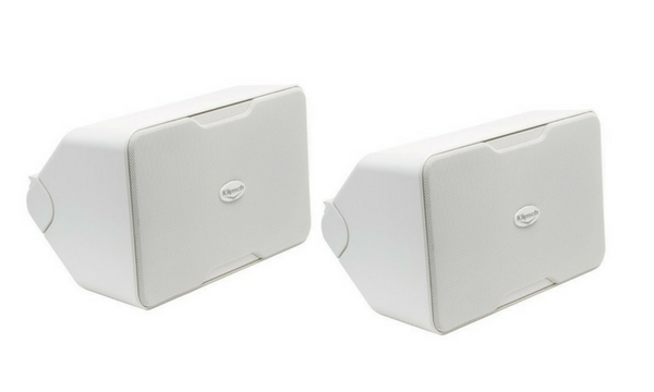 "Klipsch 5-1/4"" Indoor/Outdoor Loudspeakers (Pair) - White - CP-6-Outdoor Speakers-Klipsch-Starpower Home Theater"