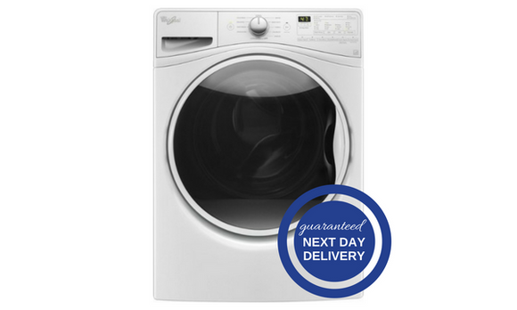 Whirlpool 27-Inch Front Load Washer - WFW85HEF-Appliances-Whirlpool-Starpower Home Theater
