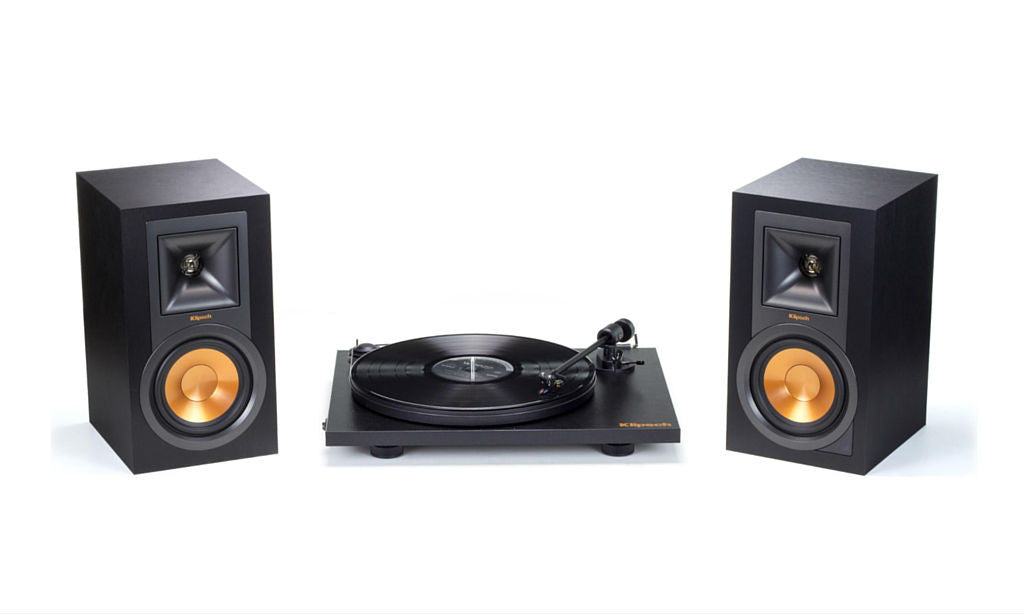 R-15PM and ProJect Turntable Bundle-Speakers-Klipsch-Starpower Home Theater